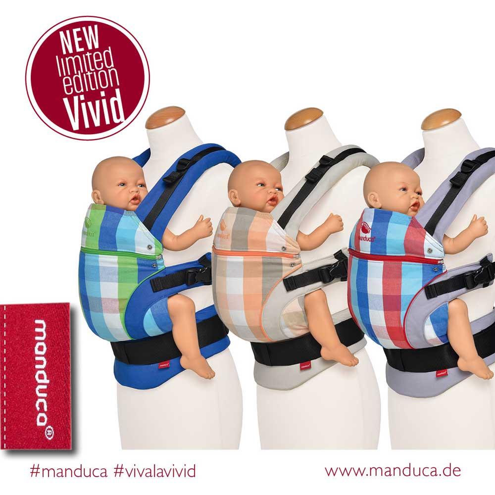 Manduca Babytrage Limited 2016 Edition Vivid red