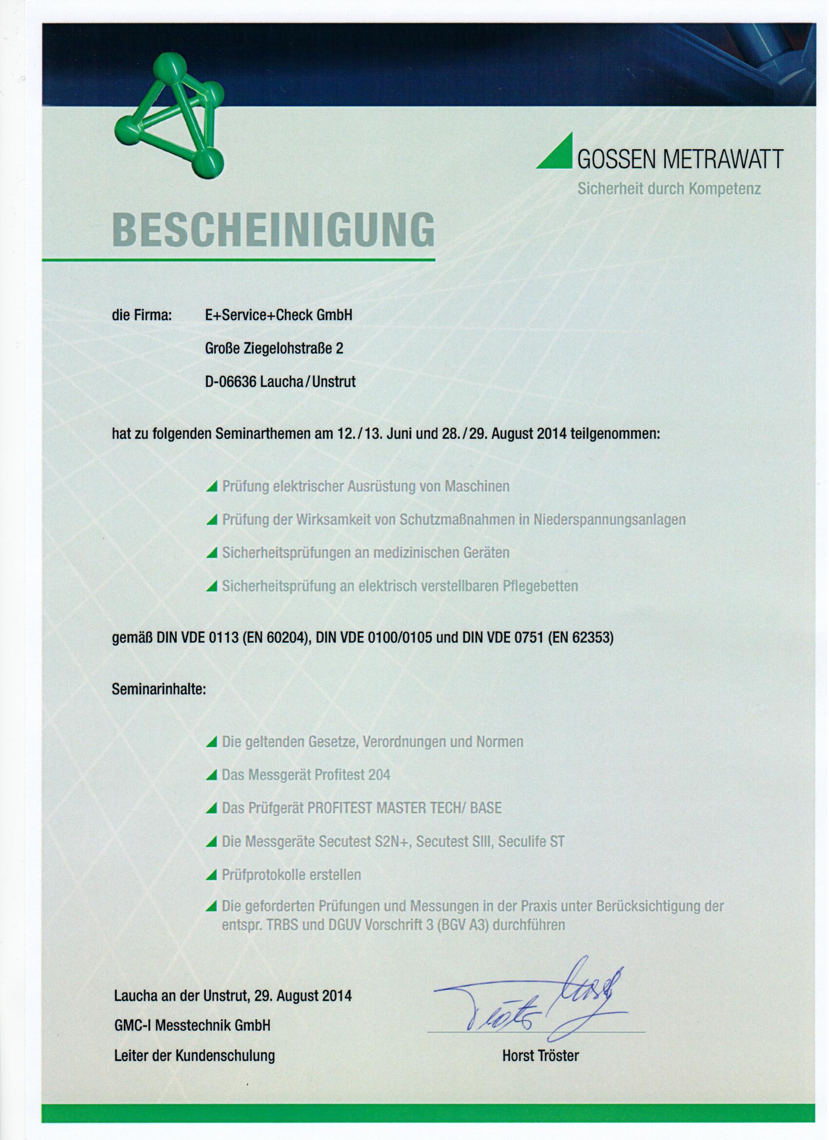 DGUV Vorschrift 3 ersetzt BGV A3 - firmenpresse