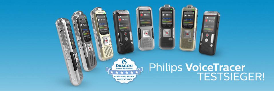 Philips Voice Tracer - Jeder Smartphone-App �berlegen