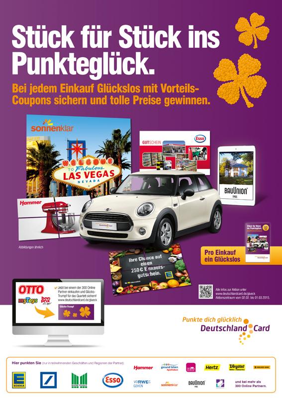 Deutschlandcard Glueck