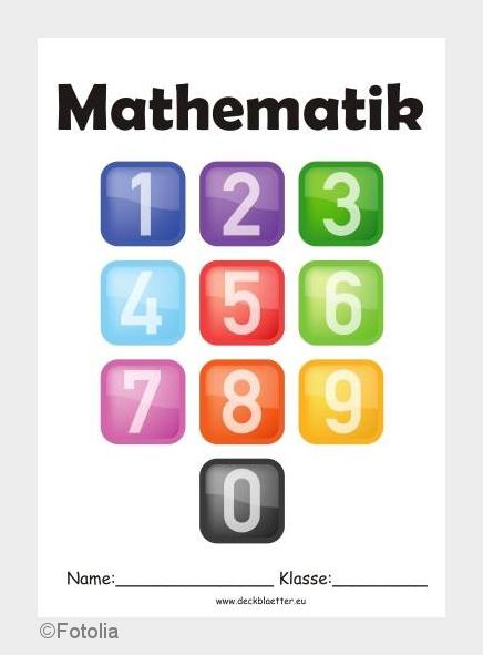 Mathe Deckblatt Klasse 7 Fe92 Startupjobsfa
