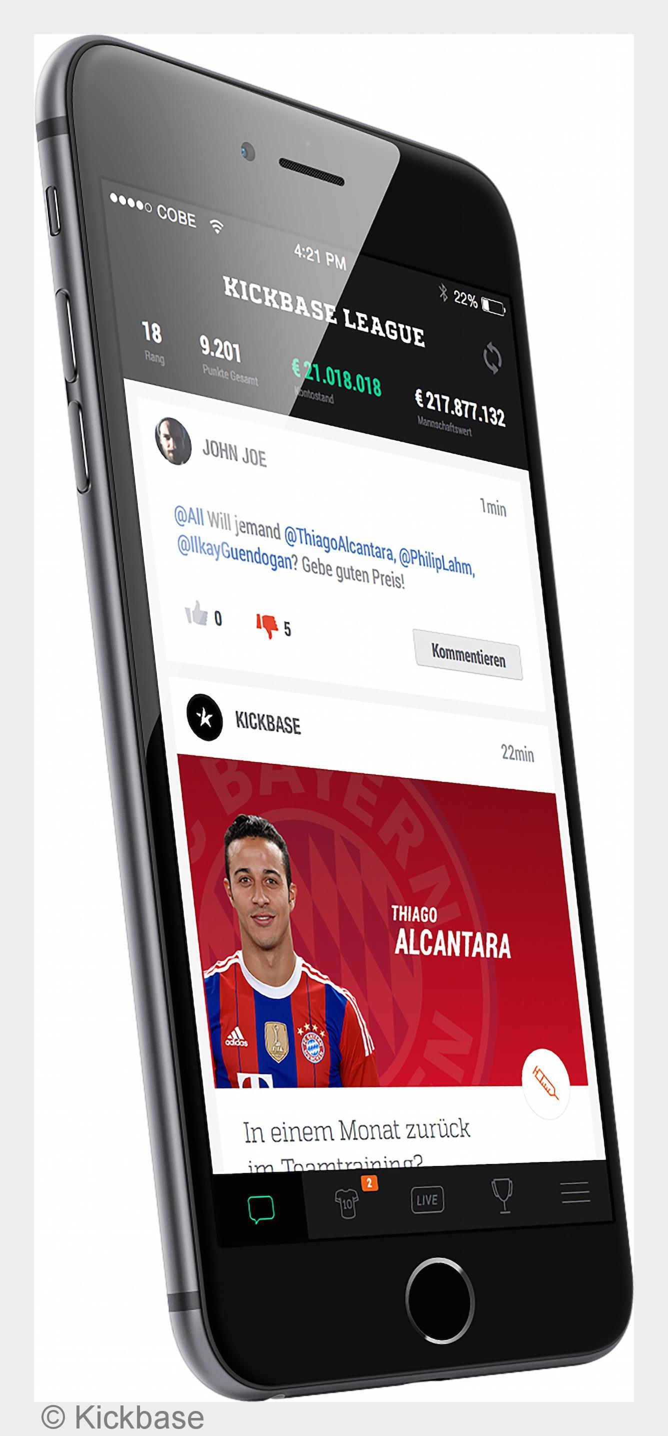 Bundesliga live: Kickbase startet erstes Echtzeit DFL
