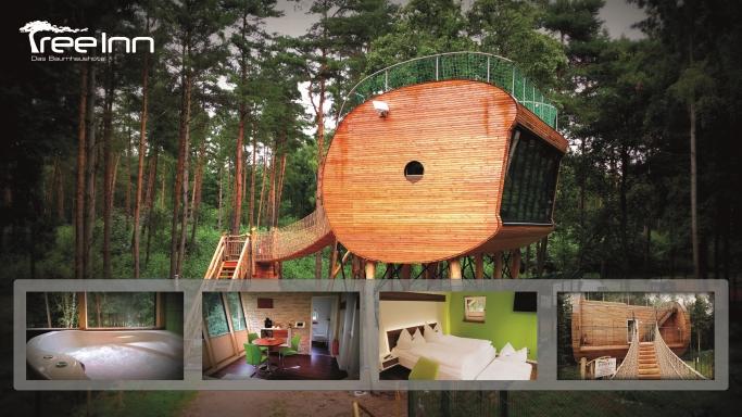 Zweites Luxus Baumhaus Im Wolfcenter Eroffnet