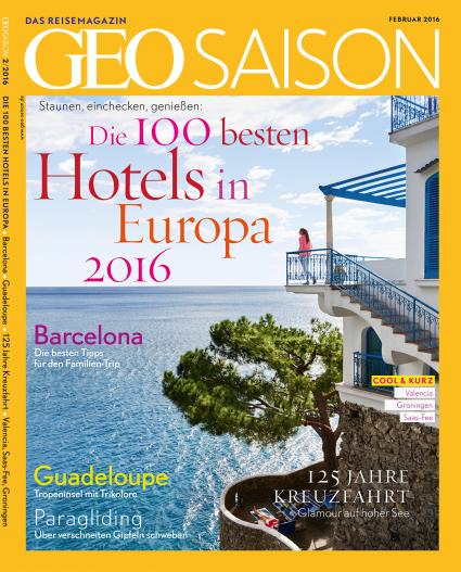 geo saison hotelranking 2016 die 100 sch nsten hotels in europa foto firmenpresse. Black Bedroom Furniture Sets. Home Design Ideas