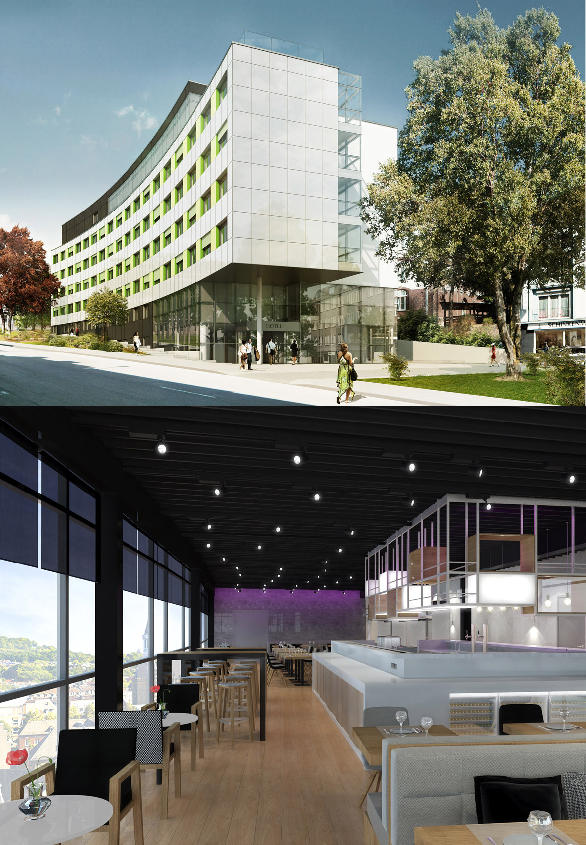 Er ffnung 2 mai 2016 4 sterne superior hotel innside by for Designhotel aachen
