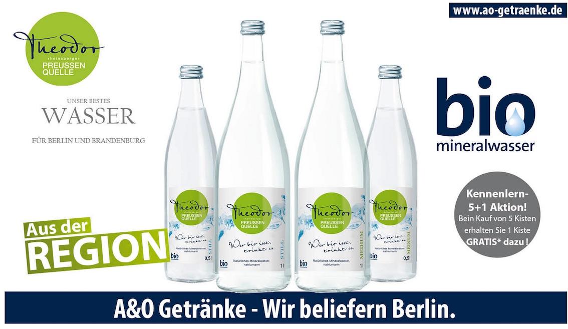 Der Theodor, der Theodor: Neu bei A&O Getränke!