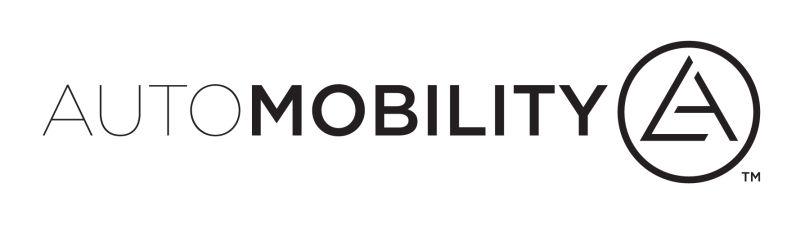 AutoMobility LA der Los Angeles Auto Show mit Technologie-Start-ups und Internet-Gr��en
