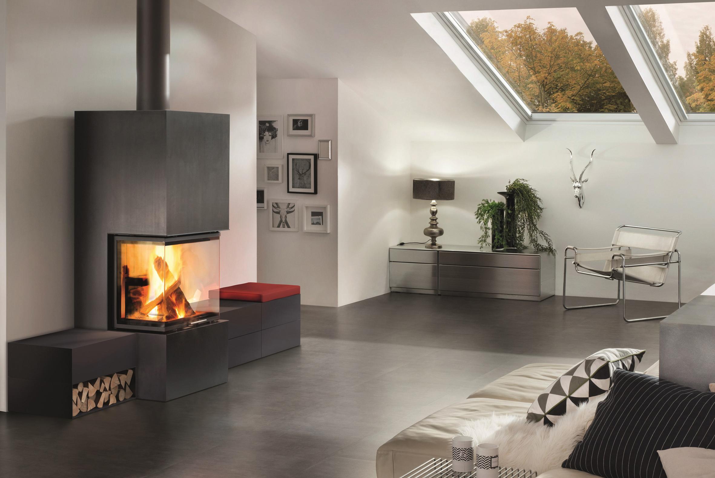 Moderne wohnraumgestaltung design und technik in for Anbauelemente haus