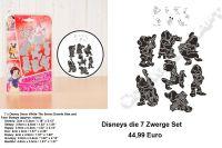 Schneewittchen Und Die 7 Zwerge Die Neuen Disney Bastel Schablonen