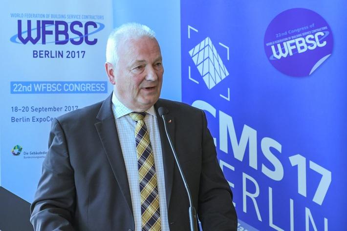 CMS Presseevent 24. April 2017 - Erfreuliche Wirtschaftsentwicklung in der Gebäudereinigung - (FOTO)