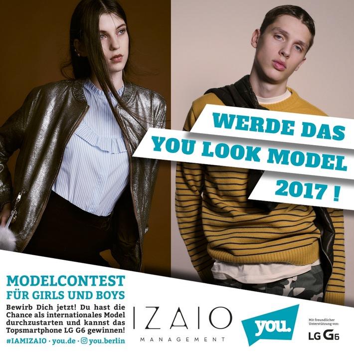 IZAIO und Europas größtes Jugendevent suchen die YOU LOOK Models 2017 (FOTO)
