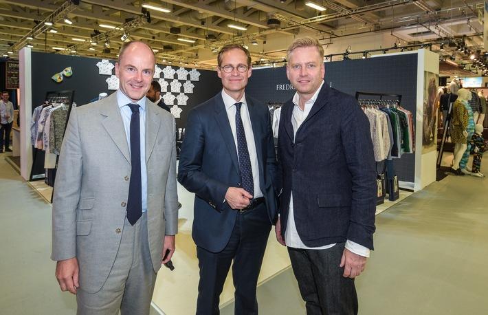 Mode wichtiger Wirtschaftsfaktor für Berlin - Berlins Regierender Bürgermeister Müller unterstreicht beim Besuch der Panorama Berlin die Bedeutung des Modestandorts Berlin (FOTO)