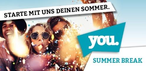 Pressetermine YOU Summer Break 2017 (FOTO)