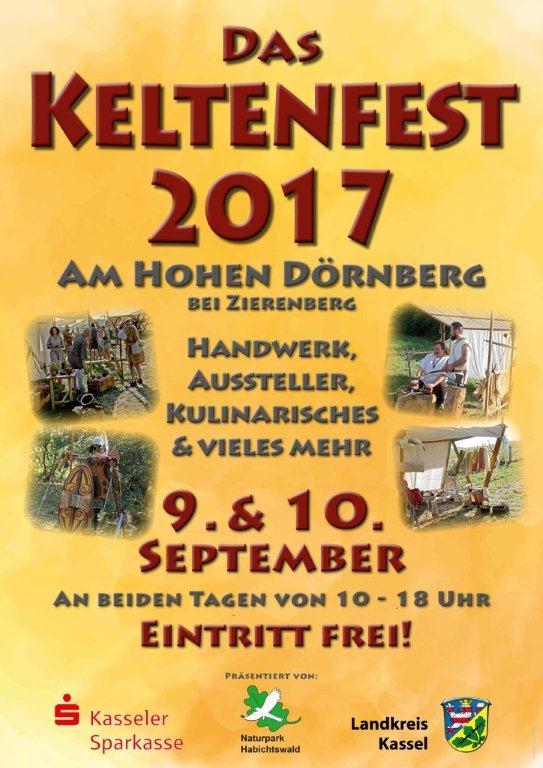 2. Keltenfest am Hohen Dörnberg in Vorbereitung