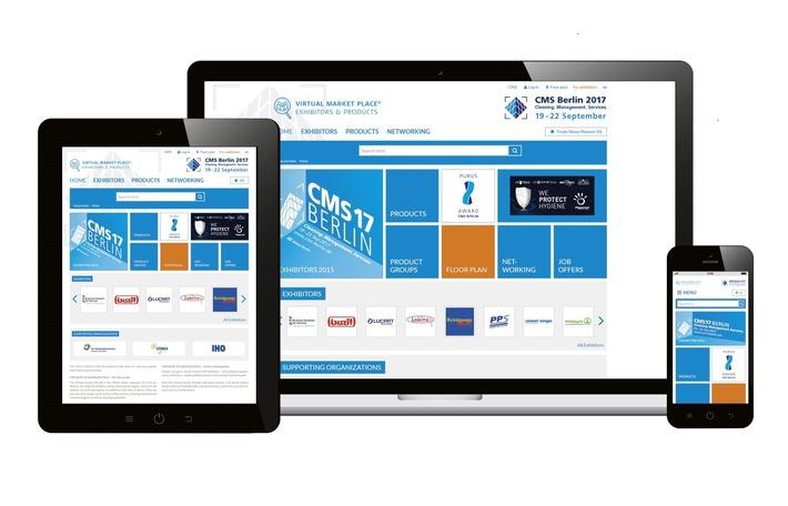 Rundum gut informiert zur CMS 2017 - Neue CMS-Medien bieten Messebesuchern nützliche Services und crossmediale Synergieeffekte (FOTO)