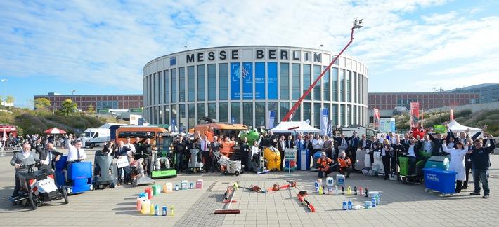 Zahlreiche Weltpremieren auf der CMS Berlin 2017: Globaler Reinigungsgipfel startet mit Parade der Reinigungsprodukte (FOTO)