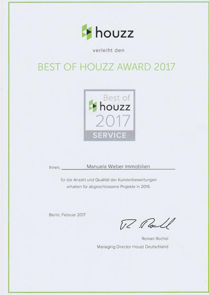 Immobilienmakler Rödermark houzz award 2017 für manuela weber immobilien aus rödermark