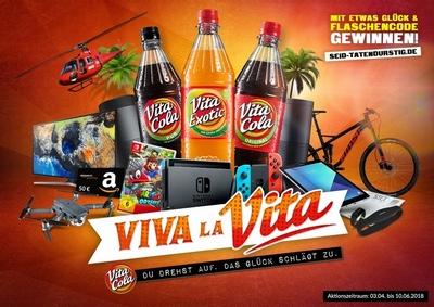"""Viva la VITA!"": VITA COLA feiert das Leben"