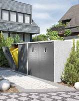wegweisend in design und funktion die avantgarde m llschr nke von paul wolff firmenpresse. Black Bedroom Furniture Sets. Home Design Ideas