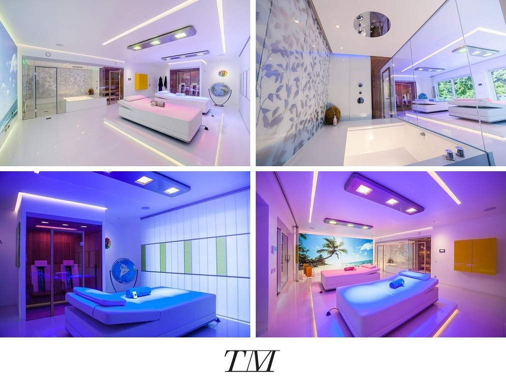 Luxuriöses Private Spa Design Exklusives Wellness Erlebnis In Den