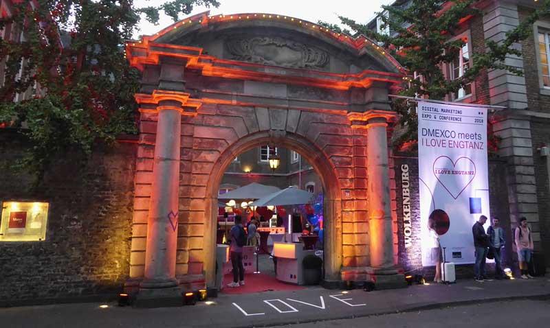 Wolkenburg in Köln begeistert als Location für DMEXCO Events