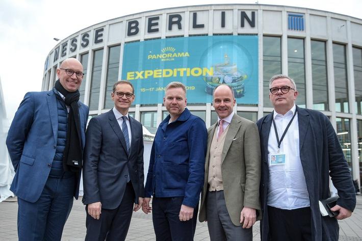 Modestandort Berlin: Berlins Regierender Bürgermeister Michael Müller und Berlins Wirtschaftssenatorin Ramona Pop informierten sich auf der Modemesse Panorama Berlin (FOTO)