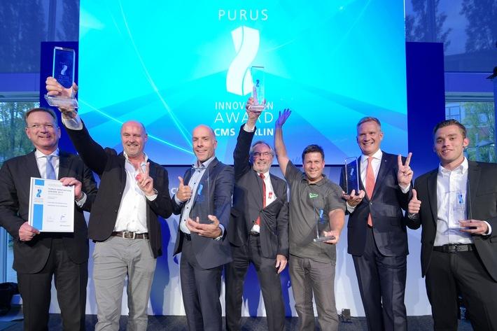 Jetzt bewerben für den CMS Purus Innovation Award 2019 (FOTO)