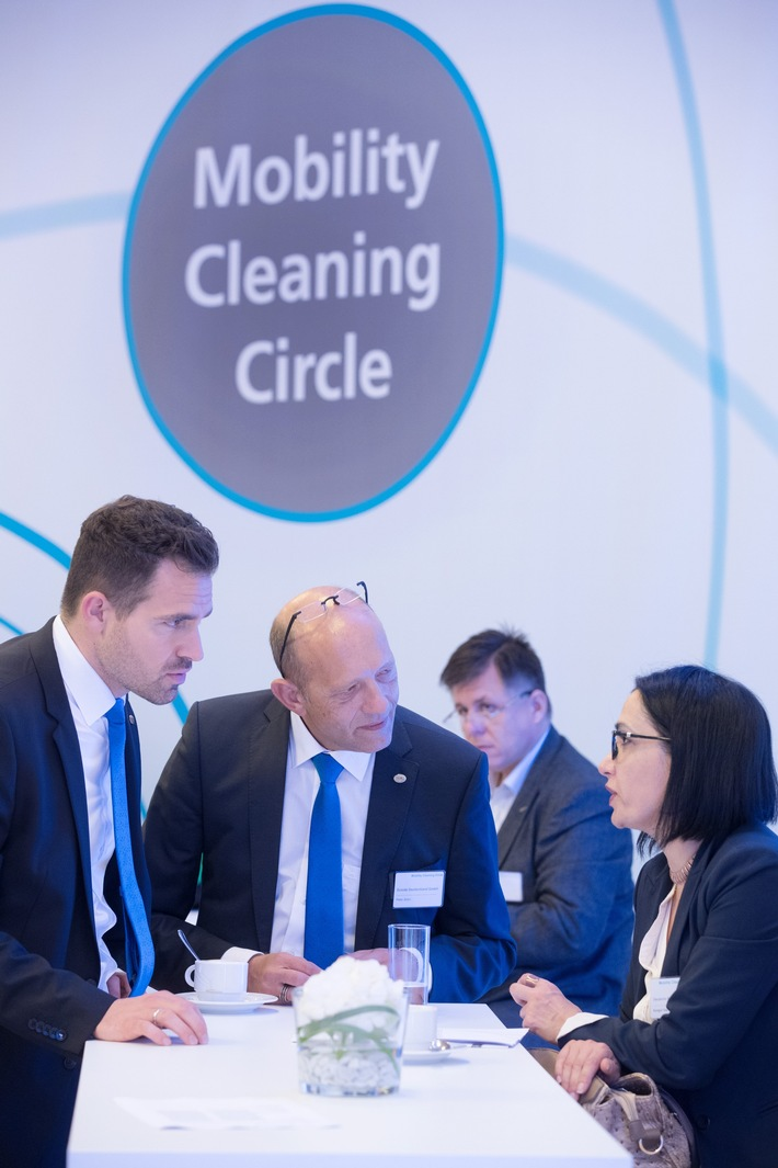 Neuauflage des Mobility Cleaning Circle (FOTO)