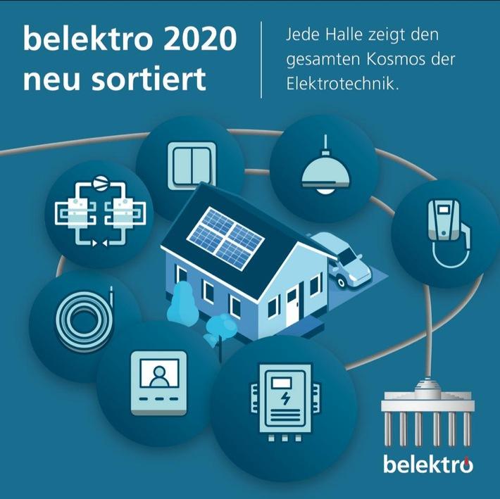 belektro 2020: Neue Hallenstruktur sorgt für schnellen Marktüberblick und mehr Dynamik (FOTO)