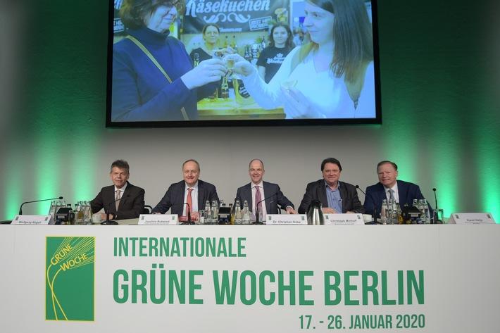 Eröffnungsbericht: Grüne Woche 2020 im Zeichen der Klimadebatte (FOTO)