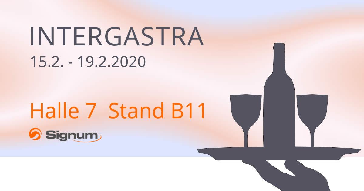 Signum Warenwirtschaftssysteme auf der INTERGASTRA 2020