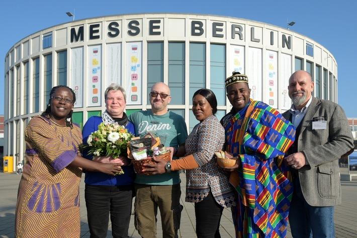 Silke Schmidt ist die 300.000 Besucherin der Grünen Woche (FOTO)