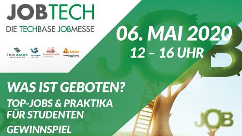 JobTech 2020: Kontakte knüpfen und durchstarten