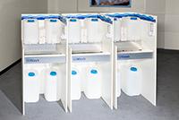 Mobile Handwaschbecken für Schulen und Klassenräume