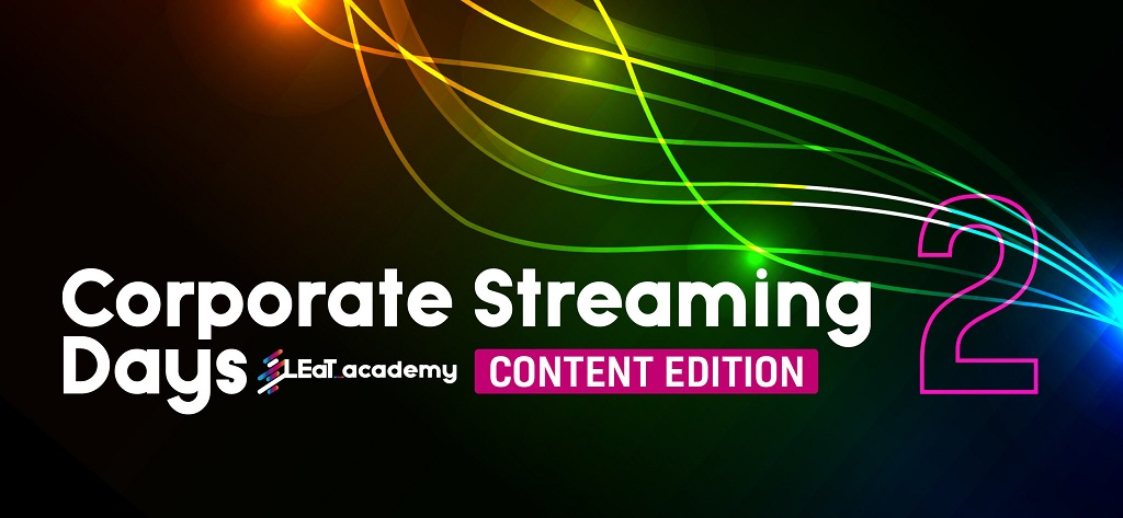 Corporate Streaming Days 2: Content Edition – Zwei-Tages-Seminar kreatives Storytelling für Digital-Events