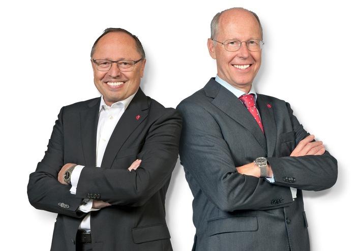 Abschied von der Spielwarenmesse eG: Ernst Kick und Dr. Hans-Juergen Richter legen Ende Juni ihre Vorstandsämter nieder (FOTO)