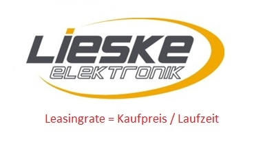 Leasing Aktion bei Lieske-Elektronik