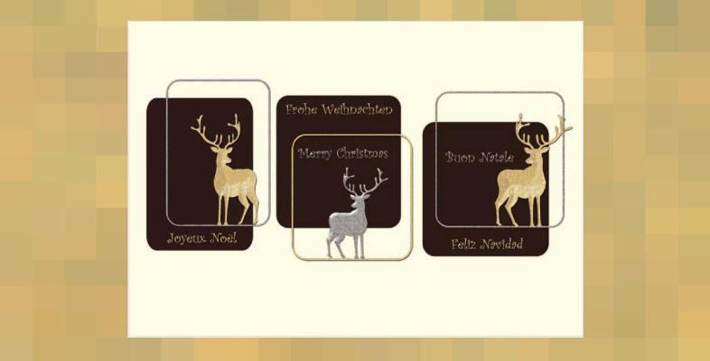 trendige hochwertige weihnachtskarten firmenpresse. Black Bedroom Furniture Sets. Home Design Ideas