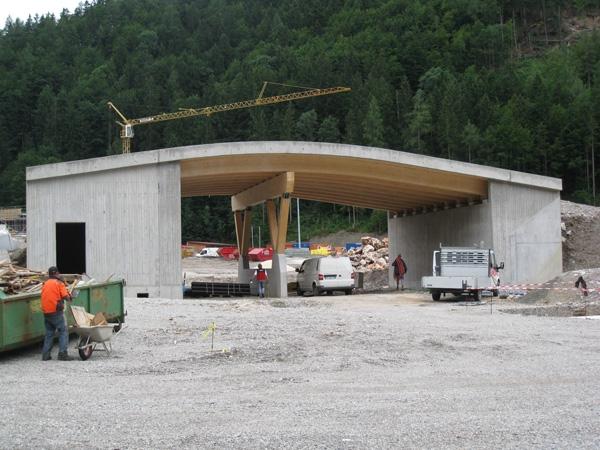 Brückenbau mit einer deutschlandpremiere