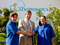 © Domus Mea: Geschäftsführer Peter Puhlmann freut sich über die Auszeichnung.
