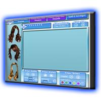 Digitale Mediengestaltung   Online Frisuren Styler