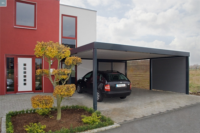 die vorteile vom designo carport modern innovativ und. Black Bedroom Furniture Sets. Home Design Ideas