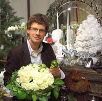 Holger Schweizer adieu tristesse winterfloristik 2008 strahlt in weiß firmenpresse