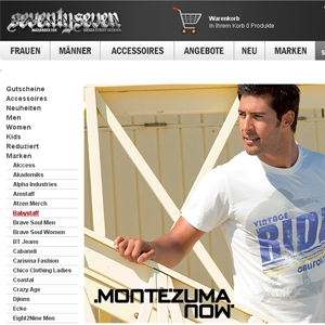 295c5433324e5e Montezuma Mode für Herren jetzt auch im Streetwear Shop 77onlineshop.de