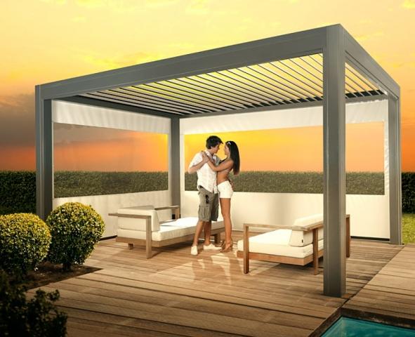 zangenberg cubus die exklusive beschattungsl sung f r terrasse garten und pool. Black Bedroom Furniture Sets. Home Design Ideas