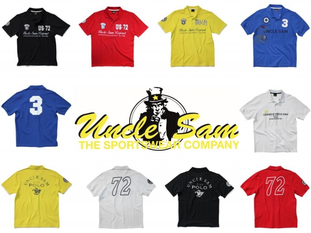 Uncle Sam Jetzt Online Lifestyle Polo Shirts In Top Qualit 228 T