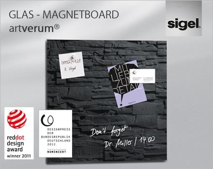 glas magnetboard artverum weiter auf erfolgskurs firmenpresse. Black Bedroom Furniture Sets. Home Design Ideas