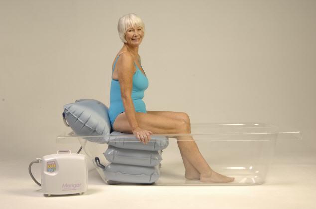 Innovative Badewannen Einstiegshilfe Mit Hmmso Badvital Bis Auf